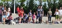 Despues del verano hemos organizado una caminata perruna para volver a vernos las caras...